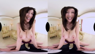 Busty Asian Julia First Hardrcore VR Scene