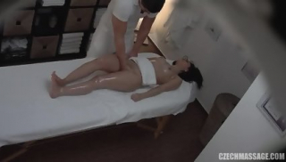 Masseur Takes Care Of His Sexy Customer