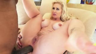 Huge Black Dick Drills Her Ass