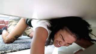 My Stepdaughter Got Stuck Under The Bed