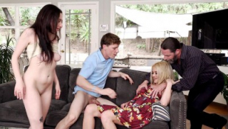 Family Orgy Goes Crazy
