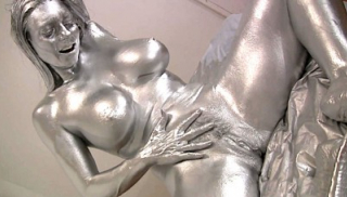 Stunning Silver Fetish, Mindi Mink