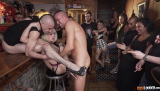 Dirty Group Sex In Bar