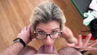 My Stepmom Gives Me Amazing Blowjobs In The Fitting Room