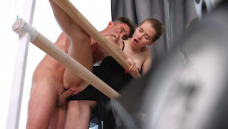 Russian Ballerina Gets Fucked And Creampied