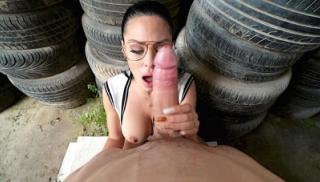 Hot Junkyard Fuck With A Stunning Latina