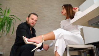 Are My Feet In Your Way Of Doing Your Job Properly?