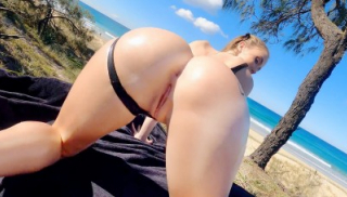 Cum And Squirt As Sun Lotion