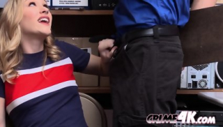 Miller s pussy gets WRECKED by thick INVESTIGATOR s cock