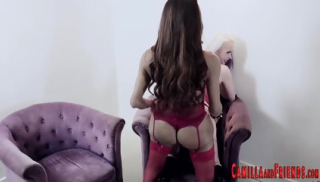 Bdsm tgirl gets cock sucked